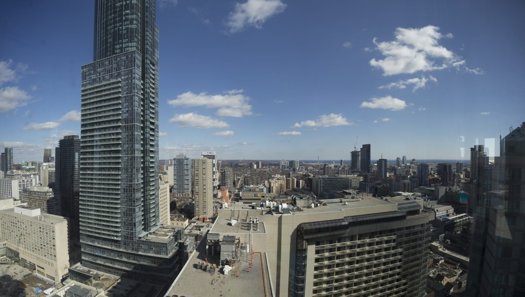 East side view from 30th floor