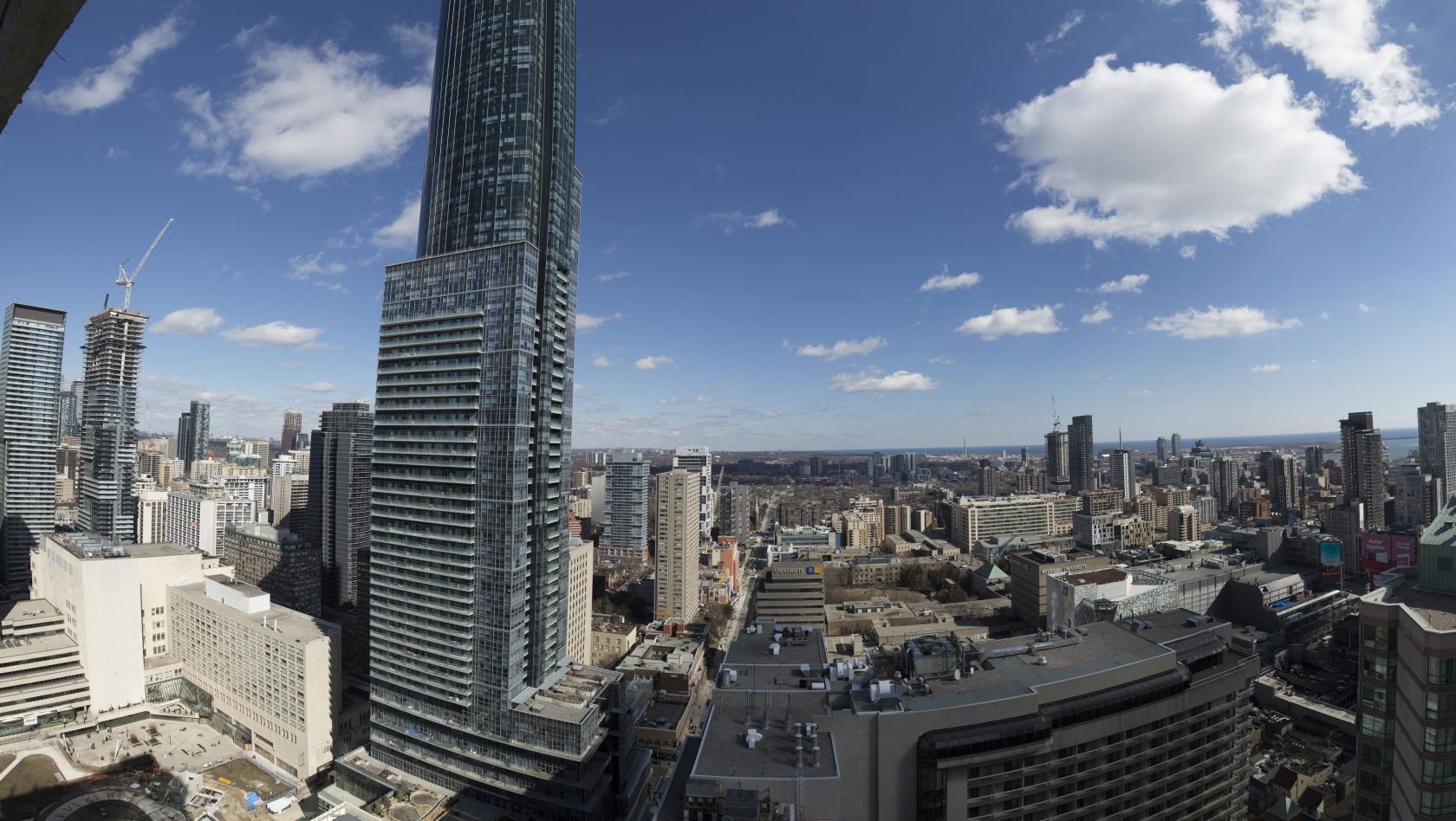 East side view from 35th floor