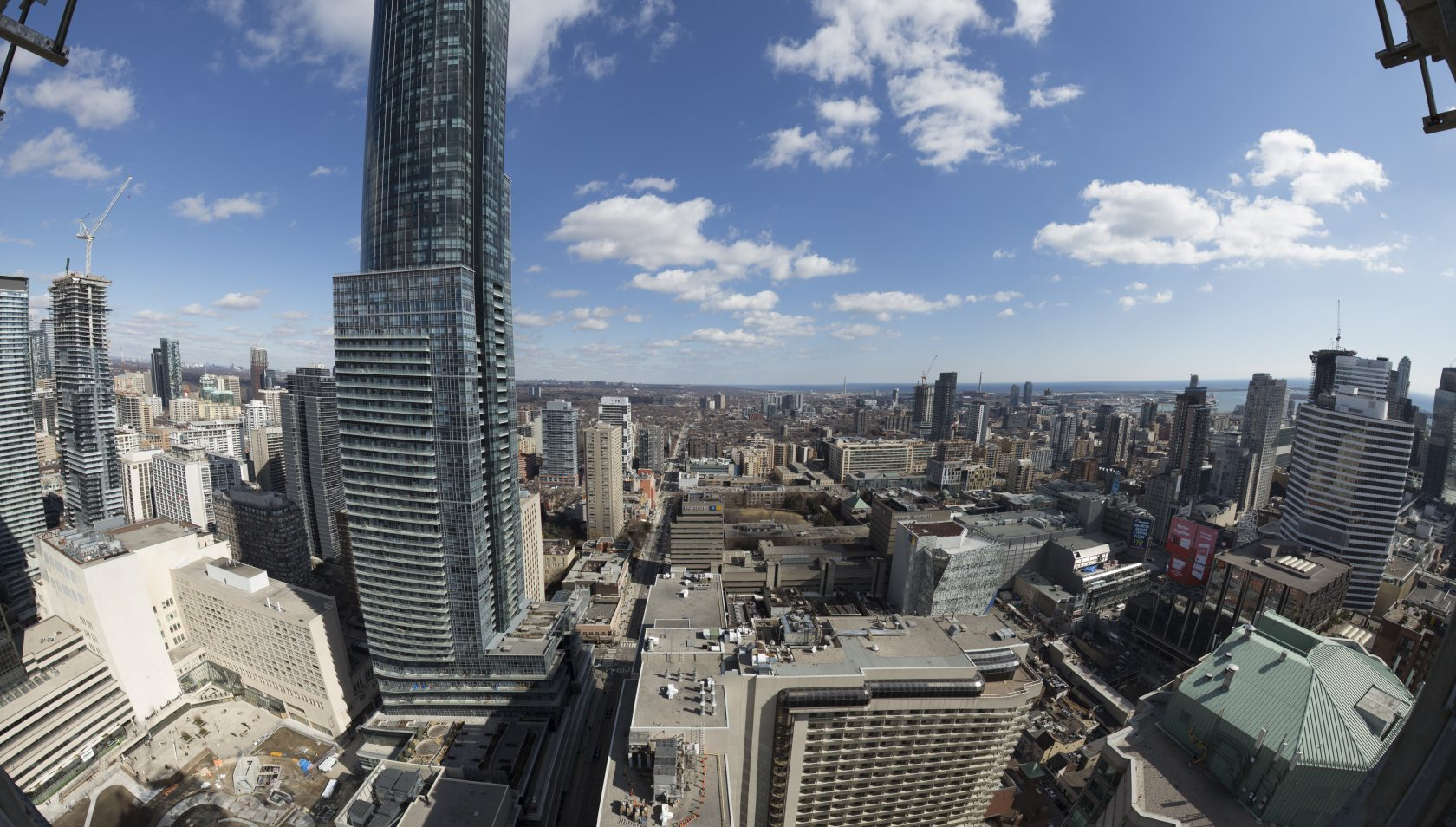 East side view from 43rd floor