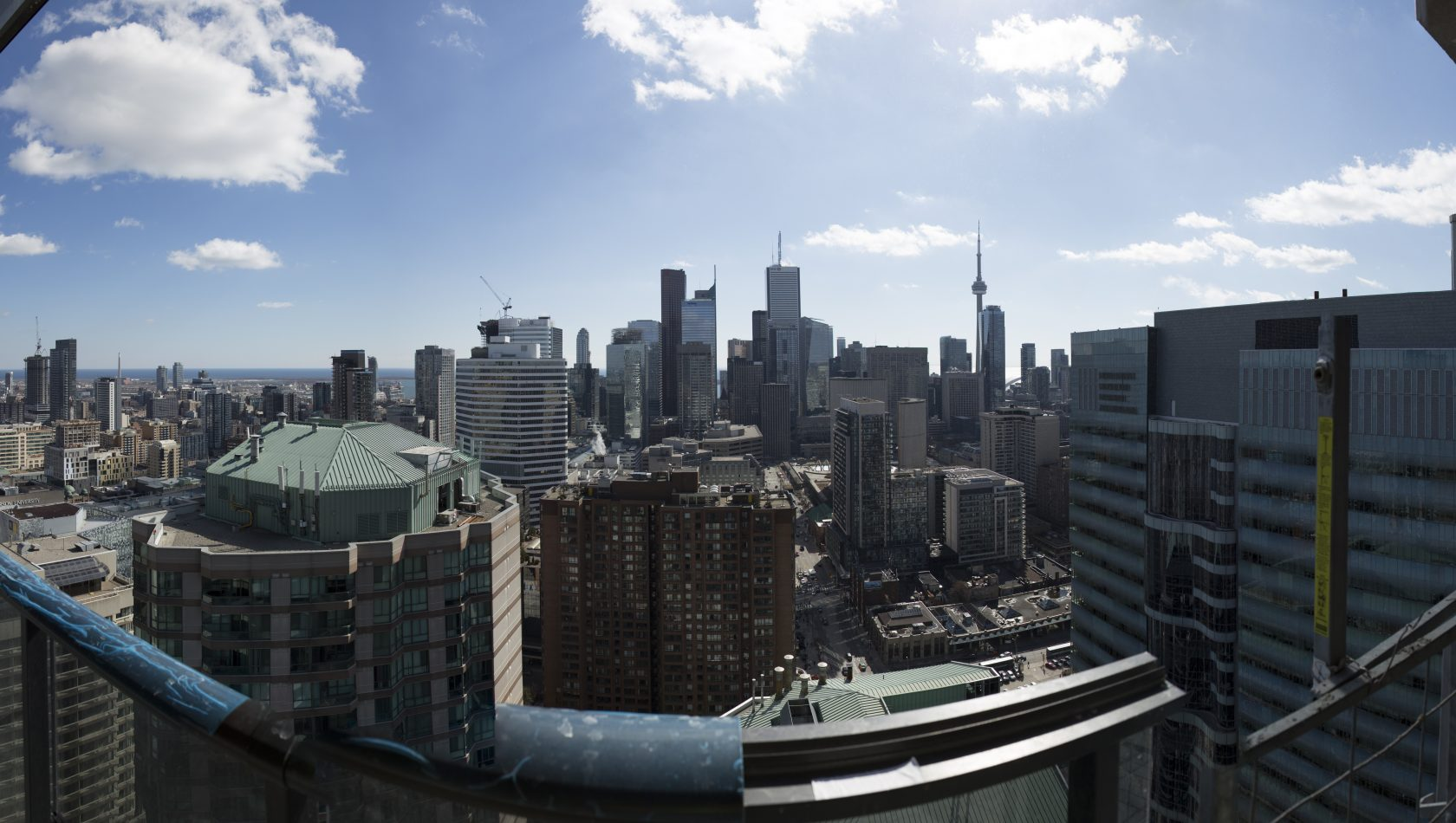 South side view from 35th floor