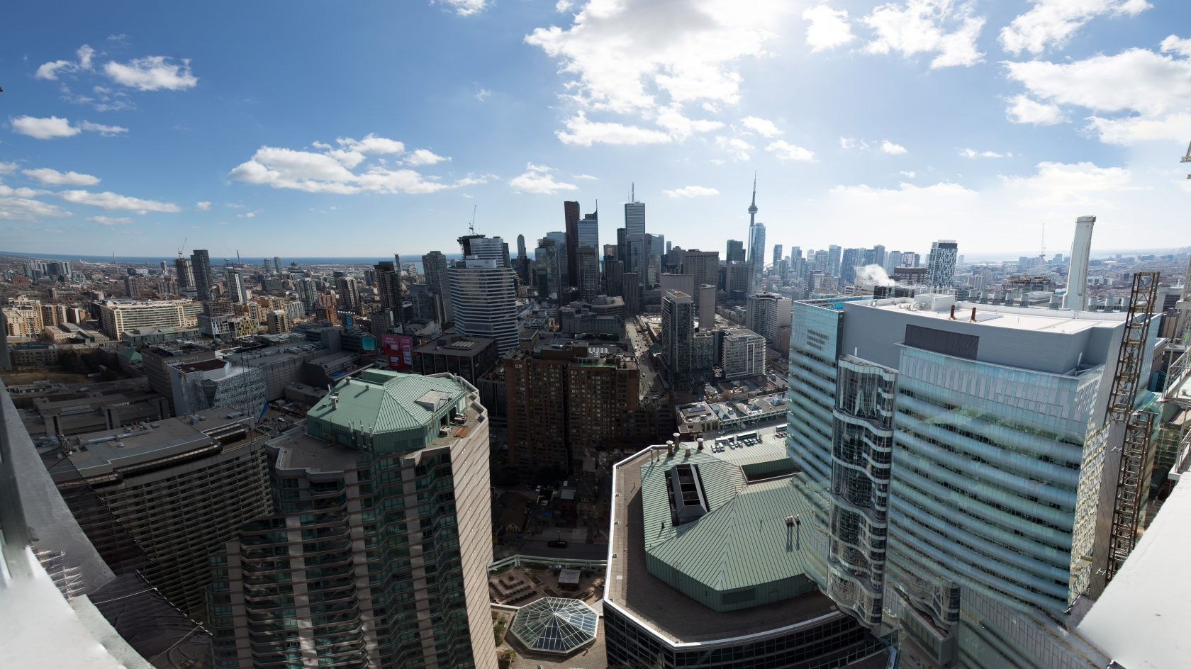 South side view from 43rd floor