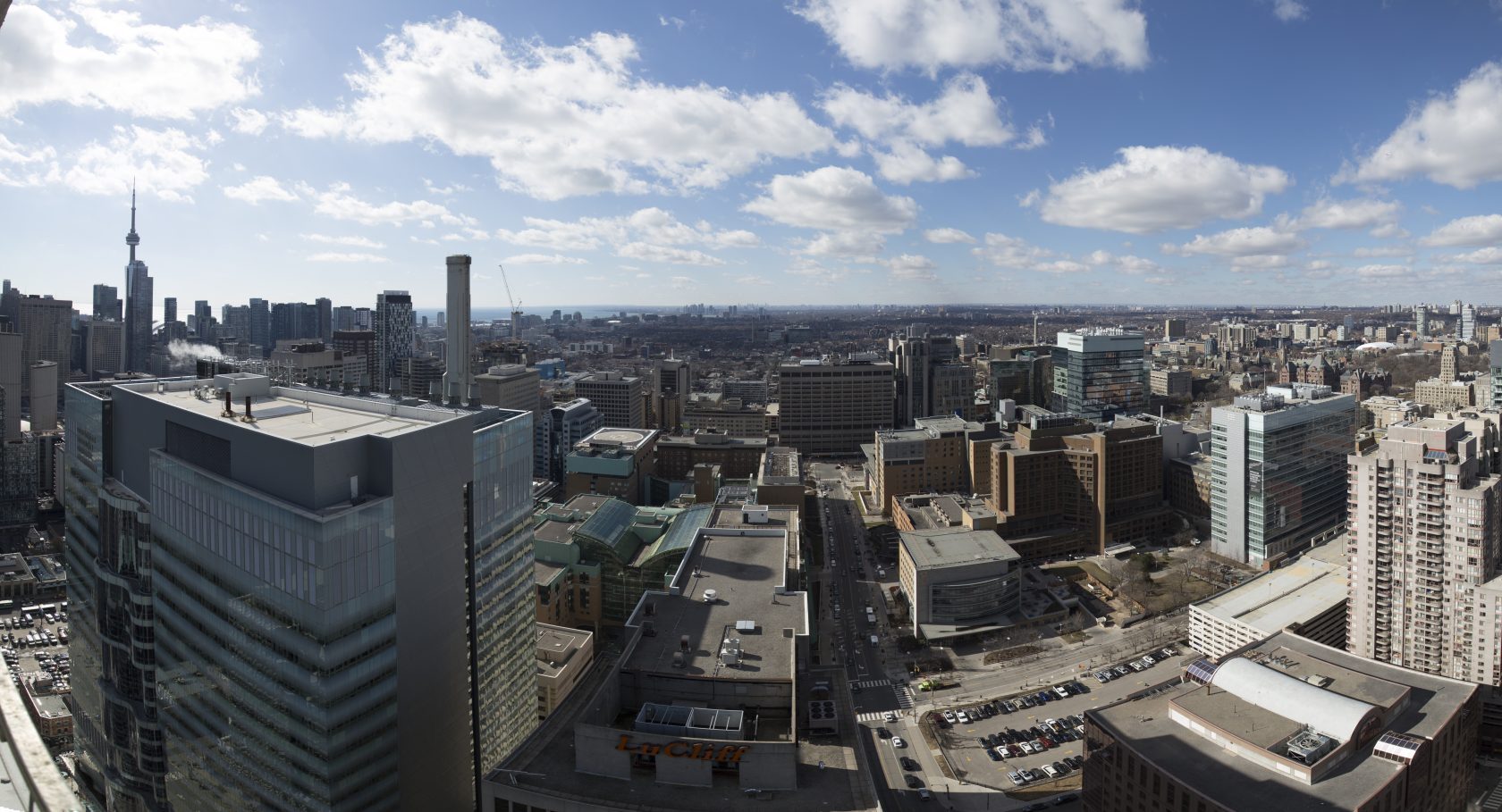 West side view from 43rd floor