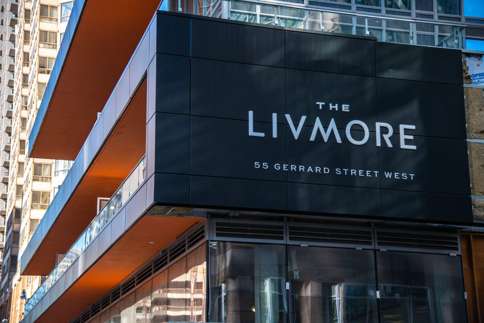 The Livmore building located at 55 Gerrard Street West