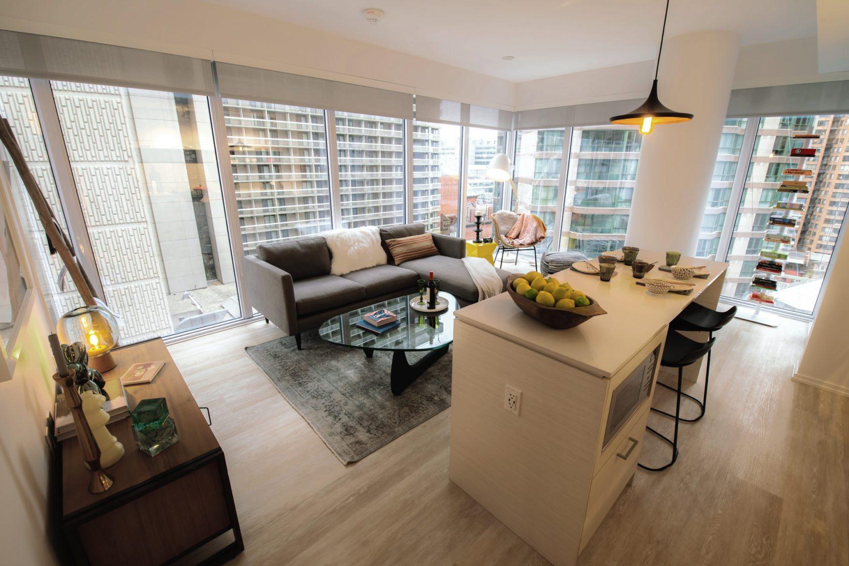 Livmore Suite Living room (bird eye view)